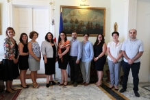 Official Visit of the Human Rights Secretariat of the Administration of the Government of Georgia to Malta